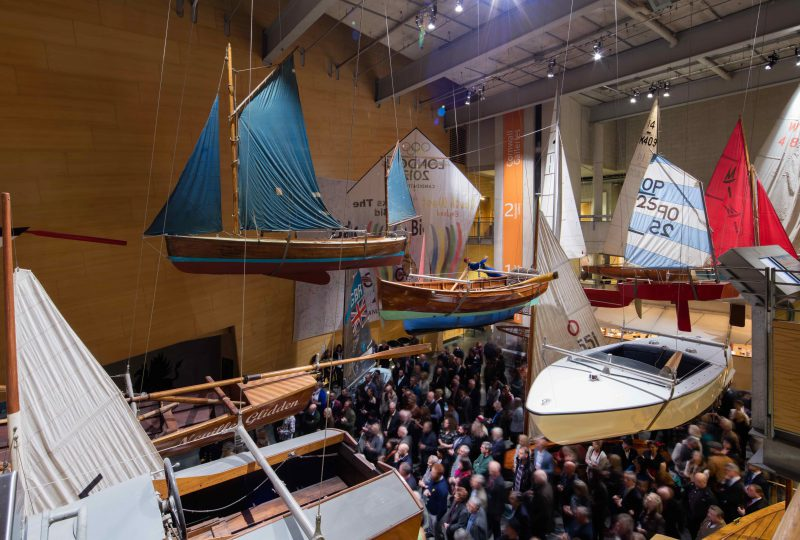 A view of The Main Hall at The National Maritime Museum Cornwall in Falmouth by Luke Hayes