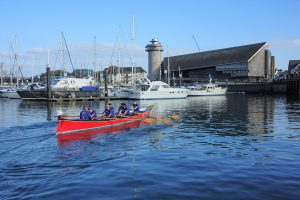 H4H Valiant heads back to the National Maritime Museum Cornwall