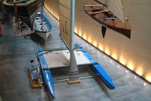 Lady Helmsman National Maritime Museum Cornwall