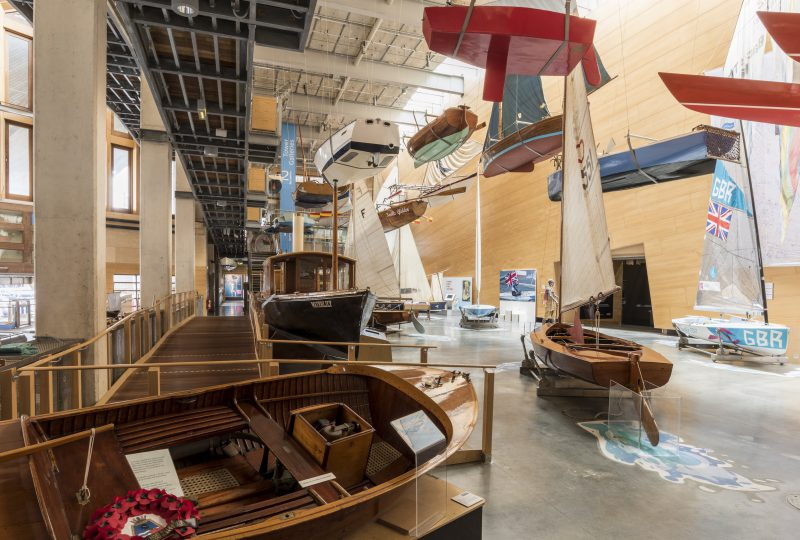 The National Small Boat Collection at The National Maritime Museum Cornwall in Falmouth