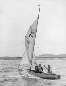 Wayfarer DInghy | National Maritime Museum Cornwall