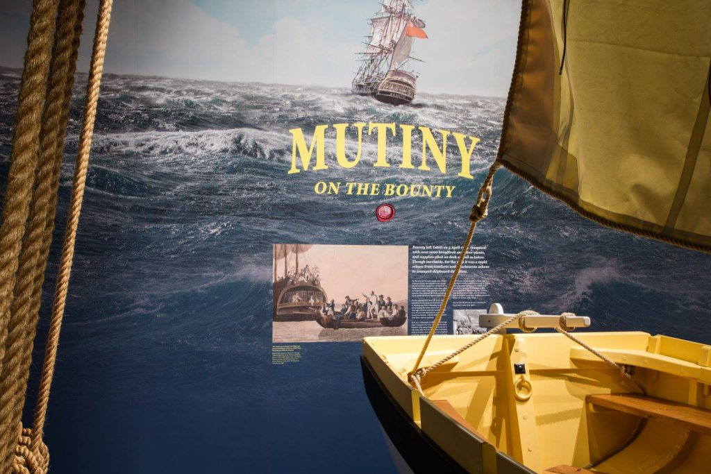 Captain Bligh: Myth, Man, + Mutiny brings to life one of the greatest small boat survival stories in maritime history.