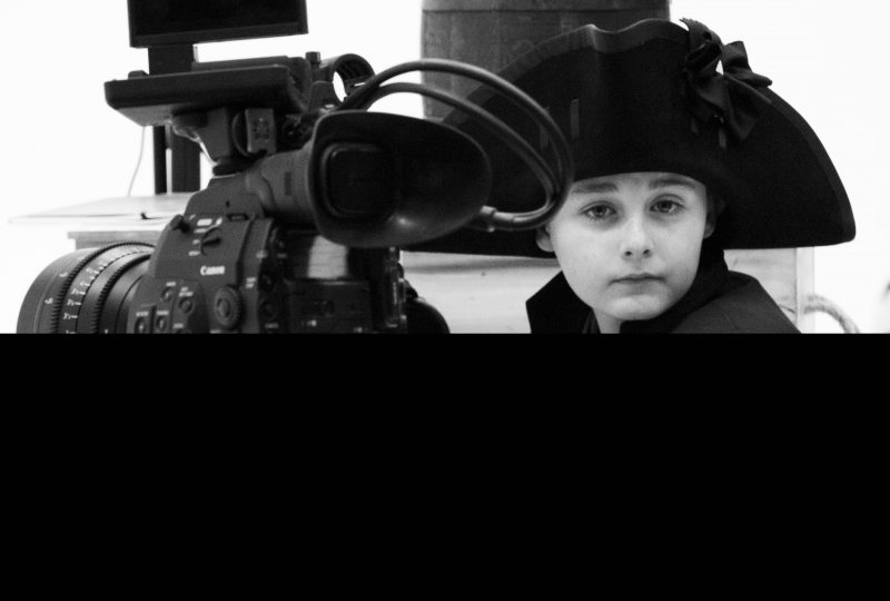 The Captain Bligh Film project at The National Maritime Museum Cornwall 2017