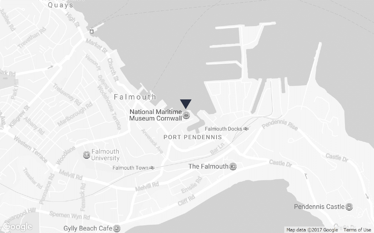 National Maritime Museum location map