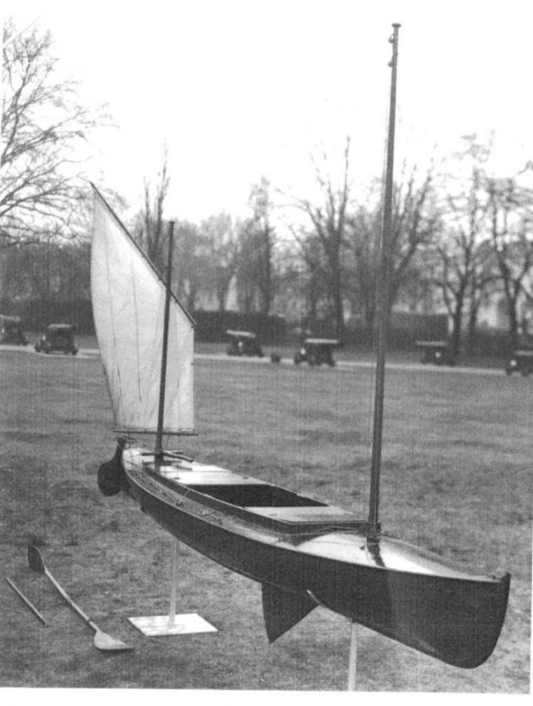 Tandem Canoe Maritime Museum Cornwall