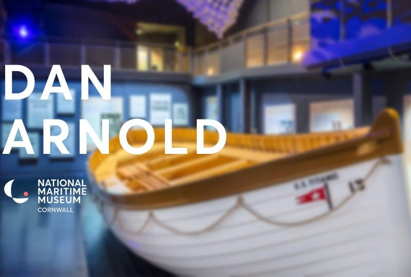 Video: Artist Dan Arnold on the Heaving Lines installation, part of Titanic Stories