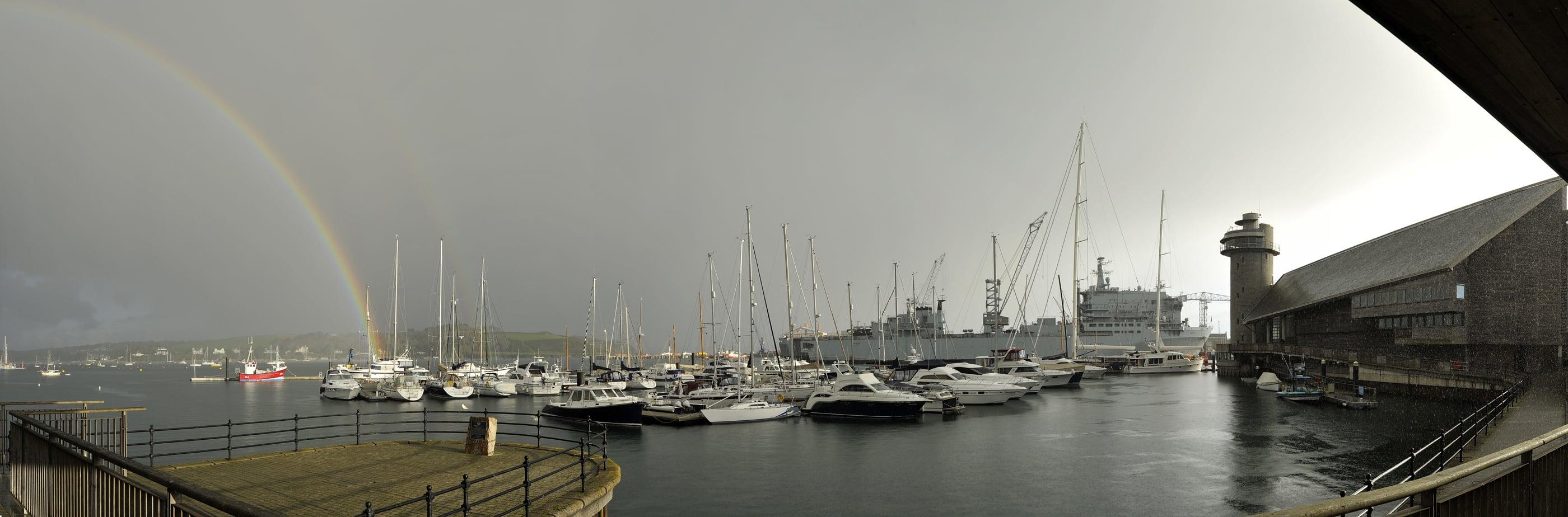 Maritime Museum – rainbow (c) Bob Berry