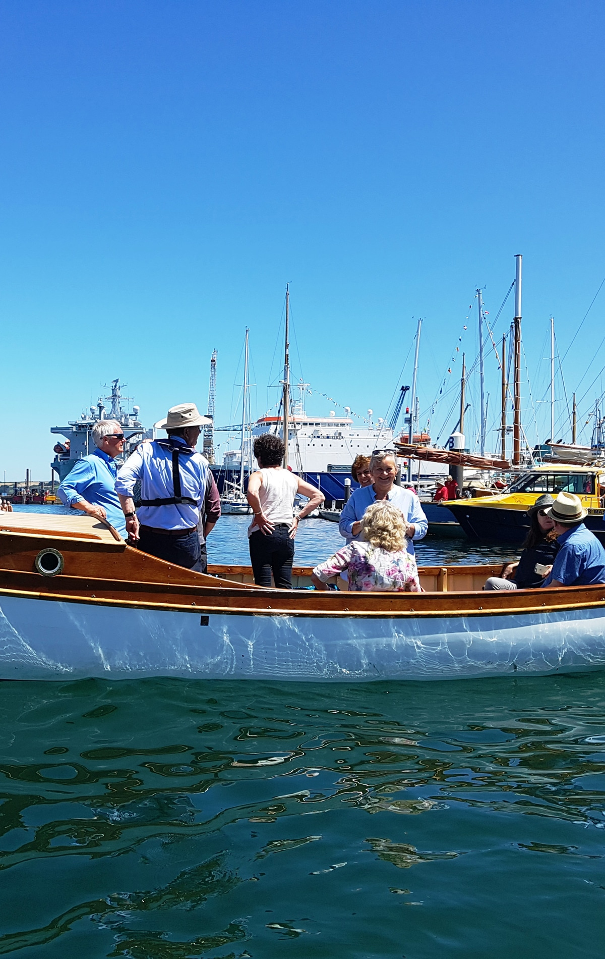 Heritage Boat Tours at National Maritime Museum Cornwall
