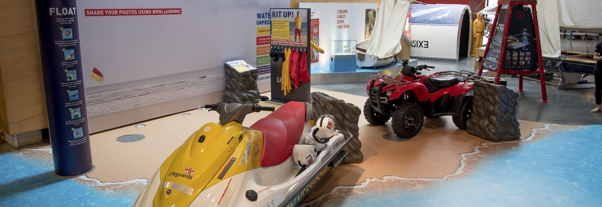 RNLI Rescue Zone at NMMC