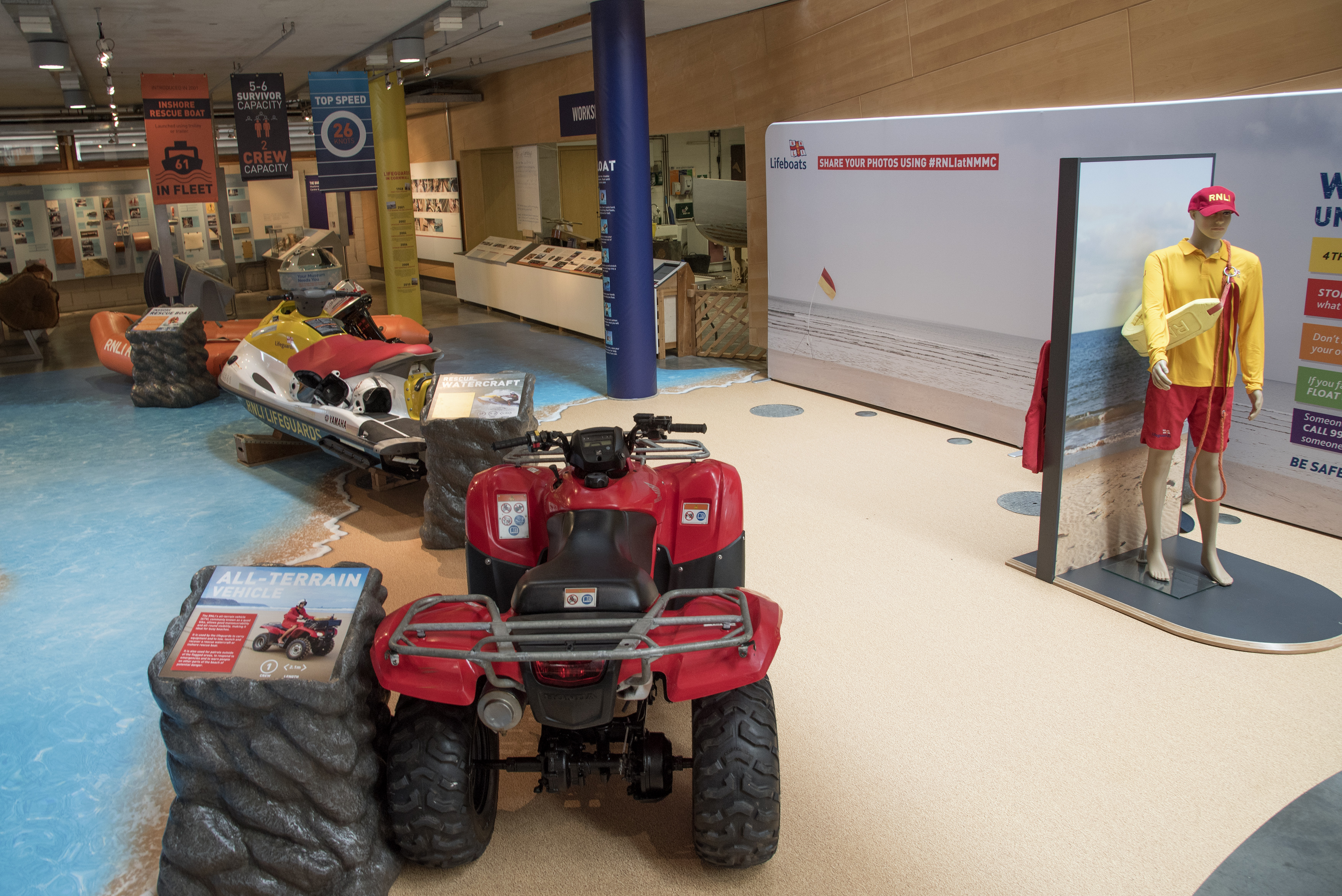 RNLI Rescue Zone at National Maritime Museum Cornwall