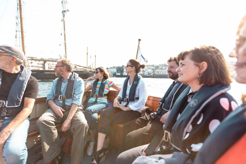 Heritage Boat Tours, eight passengers