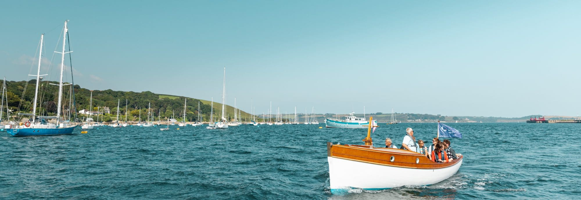 Heritage Boat Tours in Falmouth, Cornwall