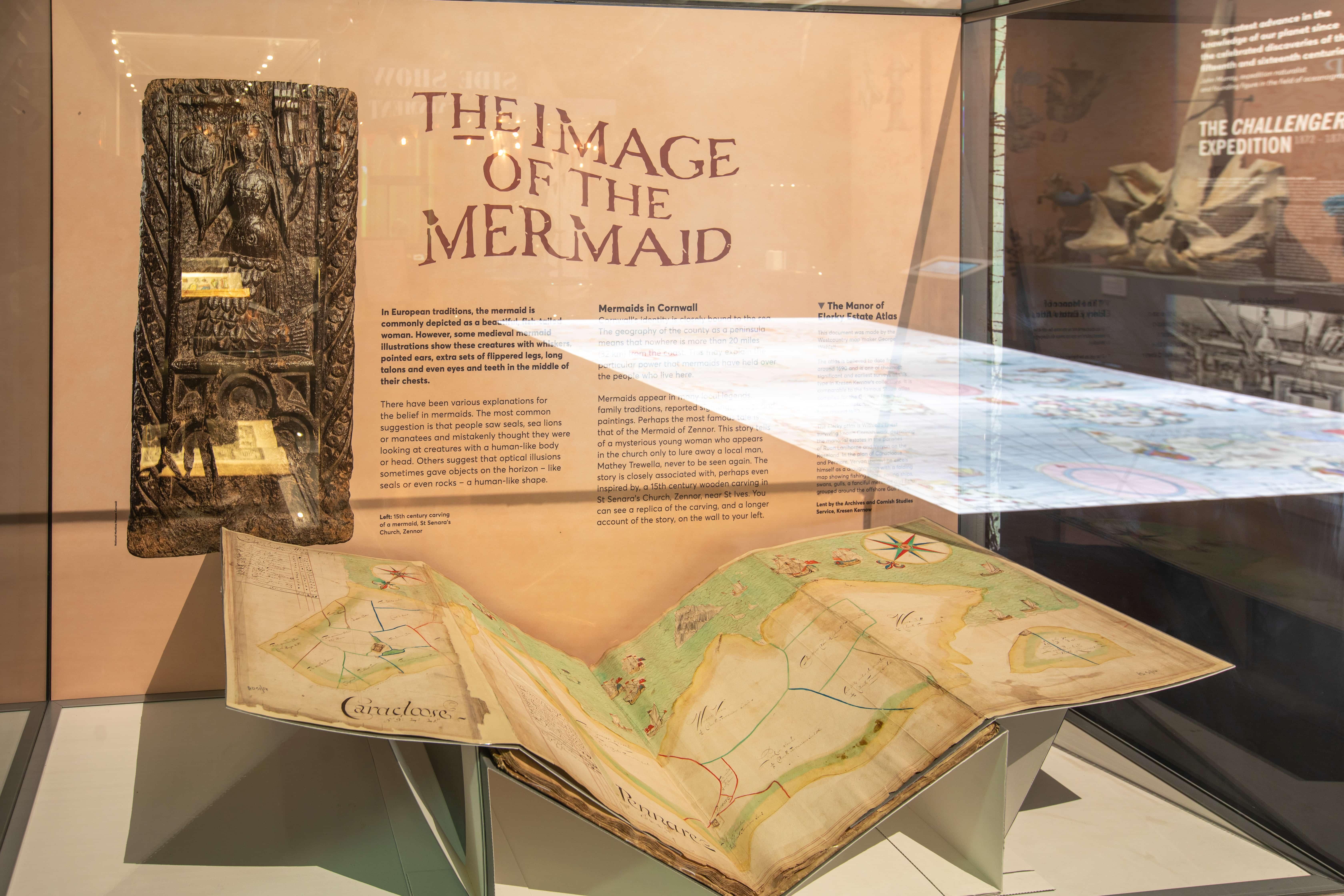 Elerkey Atlas at National Maritime Museum Cornwall